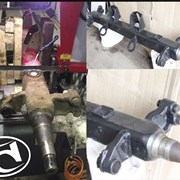 Ремонт и восстановление балок и осей полуприцепов. фото