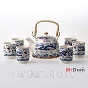 Набор для чая из 7 предметов (839091) фото