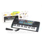Пианино mq-3705 с микрофоном, на батарейках, в коробке 45*17*5см (832085) фото