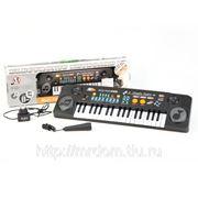 Пианино mq-803usb с микрофоном и mp3, от сети, в коробке 54*17*5,8см (833205) фото