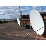 Установка и настройка спутникового телевидения фото