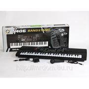 Пианино mq-5406 с микрофоном, от сети, в коробке 63*23*10см (830230) фото