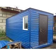 Вагончик-бытовки 6*2,4*2,5 м в Красноярск фото