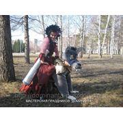 Костюм волка и костюм пиратки фото