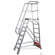 833150 Лестница с платформой VARIO, траверса 1365 9 ступ. фото