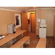 Вагон-дом кухня-столовая с комнатой повара на 8 человек 9 метровое на раме фото