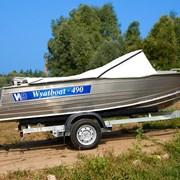 Купить лодку (катер) Wyatboat 490 фото