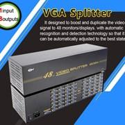 Разветвитель VGA на 48 мониторов 1 вход - 48 выход фото