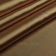 Ткань Креп-сатин коричневый фото