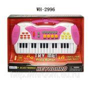 Пианино музыкальное 32 клавиши, в коробке, 28х20х5 см (821411) фото