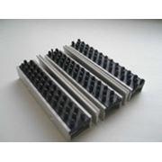 Алюминиевые решетки Щетка+скребок+щетка фото