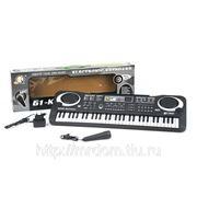 Пианино mq6101 с микрофоном, от сети, в коробке 54,1*17,1*5,2см (833301) фото