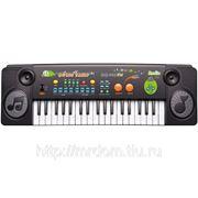 Пианино mq-005fm с микрофоном и радио, от сети, в коробке 54*17*5,8см (832342) фото