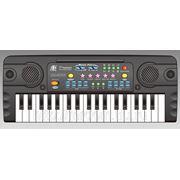 Пианино mq-3702 с микрофоном, на батарейках, в коробке 42,8*16,8*5,5см (832276) фото
