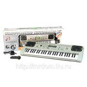Пианино mq-807usb с микрофоном и mp3, от сети, в коробке 69,5*23*8см (832413) фото