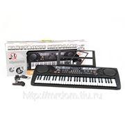 Пианино mq-809usb с микрофоном и mp3, от сети, в коробке 80*30*9,5см (835281) фото