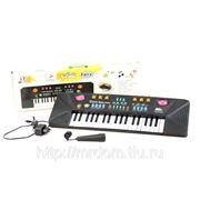 Пианино mq-3703 с микрофоном, от сети, в коробке 54*17*5,8см (835331) фото