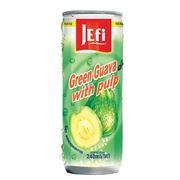 """Фруктовый напиток в банках с кусочками фруктов """"JEFI"""" гуава, 240 мл, Малайзия фото"""