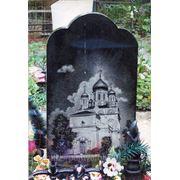 Гравировка на памятнике — Вознесенский собор в Ельце фото