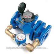 Счетчик воды (водомер) комбинированный, тип MWN/JS-S, Ду-100,Py16, Q=60 м3/час, для холодной воды фланцевый, PoWoGaz-Польша фото
