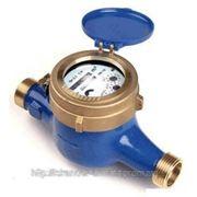 Счетчик воды (водомер) мокроход, тип WM, Ду-20,Py16, Q=2,5 м3/час, для холодной воды муфтовый, PoWoGaz-Польша фото