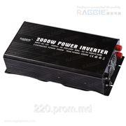Инвертор 12/220 Raggie Elite RGP-2000W (усиленный) фото