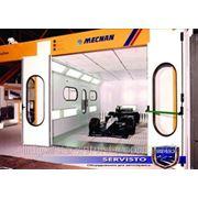 Окрасочные камеры, окрасочное оборудование, покрасочные камеры MECNAN Tenax DD 66 фото