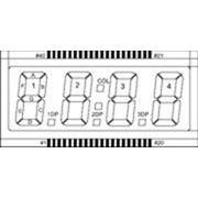 Сегментный ЖК-индикатор ITH-E0816GRNP фото