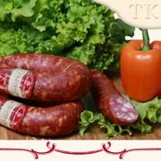 Колбаса полукопченая Краковская высший сорт фото