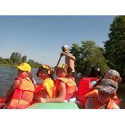 Сплав по реке Чулым фото