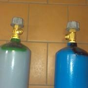 Баллоны под медицинские газы (кислород, закись азота) объемом 5 литров фото