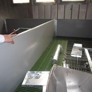 Монтаж оборудования для свинарника,echipament pentru porci фото