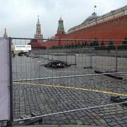 Панель временного строительного ограждения ЕВРО-3 фото
