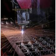 Порезка металлопроката лазерная фото