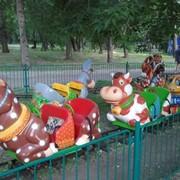 Детская железная дорога Простоквашино фото