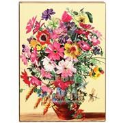 Панно декоративное Букет цветов 3 Артикул: 038005ид19003 фото