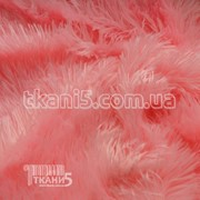 Ткань Мех травка 33мм ( розовый ) 147 фото