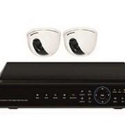 Система видеонаблюдения. Комплект Базовый. фото