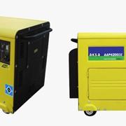 Генераторы, Генераторы дизельные, Дизельные генераторные установки AAP-4200 DEДвигатель Aksa Альтернатор Aksa фото