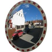 Сферическое круглое уличное зеркало фото