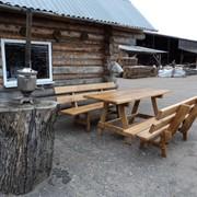Мебель с натуральной древесины фото