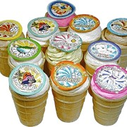 Мороженое в стаканчиках