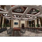 Выполнение 3-D визуализации дизайна интерьеров помещений фото