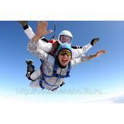 Прыжок с парашютом (тандем с инструктором) фото