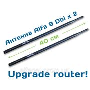 2x Alfa ARS-N19 Wi-Fi антенна 9dbi router pack фото
