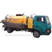 Аренда бетононасоса с производственной мощностью 30-40 м3/час Мин. заказ: 2 часа работы. фото