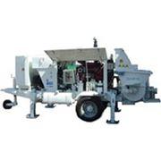 Аренда бетононасоса с производственной мощностью 50-90 м3/час. Подача на высоту до 100 м. фото