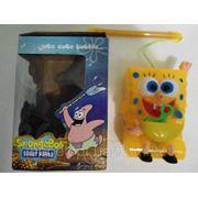 Губка Боб, игрушка с мыльными пузырями фото