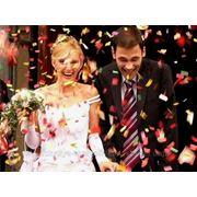 Конфетти на свадьбу фото