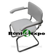 Аренда белых стульев Сильвиа фото